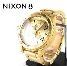 US Nixon 51-30 Chrono Gold