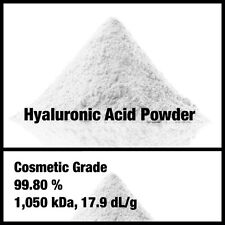 1g HYALURONIC ACID POWDER , 99.80%, Cosmetic Grade, DIY your skin healthy serum!