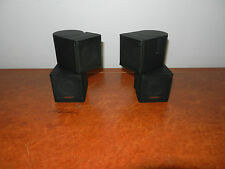 BOSE PREMIUM JEWEL CUBE SPEAKERS (2x) FROM LIFESTYLE 535 +++ FREE DELIVERY+++