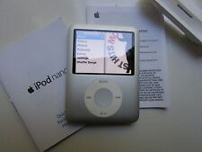 Apple iPod nano 3rd Generation Silver (4GB) Boxed very good condition