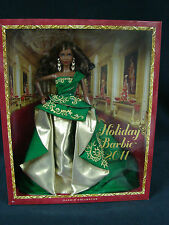 Mattel  Holiday barbie 2011 Barbie Collector    African American New
