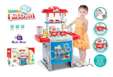 Large CHILDREN KIDS KITCHEN COOKING ROLE PLAY PRETEND TOY COOKER GAME SET