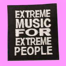 Extreme Music For Extreme People Morbid Angel Death Embroidered Iron On Patches