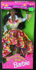 COUNTRY WESTERN STAR Black BARBIE NRFB AA Wal-Mart Exclusive w/ Boots, Hat  1994