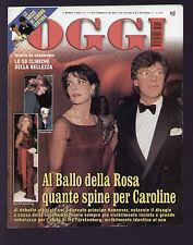 OGGI 14/1998 CAROLINE LUIGI DI BELLA SIMONA VENTURA STEFANO BETTARINI IL TITANIC