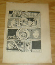 Kukawy #1 FN john thompson - extremely hard to find underground comix newspaper