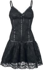 robe noire EMP  dentelle gothique soirée M/L