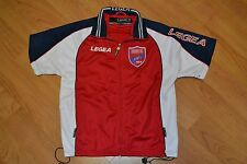 Panionios FC Greek Soccer Football Jersey Zip Up Track Jacket Legea XXS Small