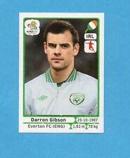 PANINI-EURO 2012-Figurina n.352- GIBSON - IRLANDA -NEW