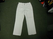 "Blue Willi's Classic Fit Jeans Waist 30"" Leg 28"" White Faded Ladies Jeans"