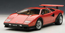 AUTOART LAMBORGHINI COUNTACH WALTER WOLF EDITION RED 1:18**Nice**New Stock!