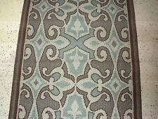 Sphinx Oriental Weavers Rug Montego Polypropylene Brown Turquoise New 2.5 x 4.5
