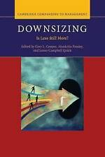 Downsizing: Is Less Still More? by Cambridge University Press (Paperback, 2015)