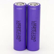 Auction 2PCS LG INR18650 MF2 2200mah 10A RECHARGEABLE high drain battery