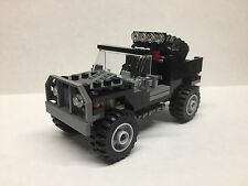LEGO, CITY,  JEEP CJ ,Brand New! Black, Off-road Custom Vehicle With Light Bar