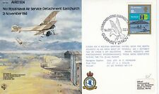 (90639) CLEARANCE GB Guernsey Cover RAF B2 Eastchurch 1982 NO INSERT