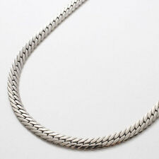 "Pure Titanium 11g Herringbone Chain Necklace 23.5"" Hypoallergenic Elegant Health"