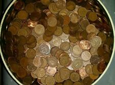 10 Lbs pounds of canadian copper pennies 1930's -1995 coins bullion