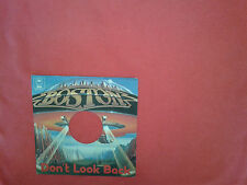 Boston ‎– Don't Look Back  - Copertina Forata Per Disco Vinile 45 Giri 7""