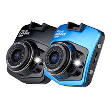 Blue Novatek Mini Car DVR Camera GT300 Dashcam Full HD 1080p
