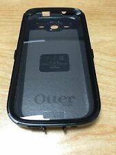 OtterBox Samsung Galaxy S3 III Black Defender Inner Shell Case+Screen Protector