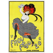 Le Frou Frou Deco Magnet, Decorative Fridge Leonetto Cappiello Antique Ad Poster
