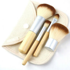Set Pennelli Trucco Make Up Professionali Di Bambù Halal Vegani Kosher