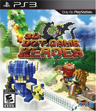 3D Dot Game Heroes PS3 New Playstation 3