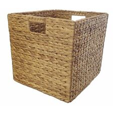 Clever Cube Storage WATER HYACINTH NATURAL INSERT 330x330x360mm Ideal For Toys