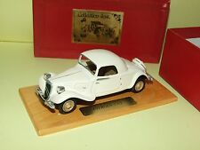 CITROEN 7 CV COUPE Crème JOST COLLECTION 1:43