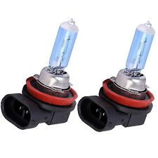 1pair 6000K H11 12V 55W super car fog lamp bulb White Auto Car halogen lamp head