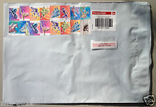 100 x 500g Parcel Post Satchels With Australia post Tracking 250x330mm $7.6