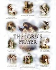 "8"" x 10"" Catholic Print Picture THE LORD'S PRAYER Our Father"