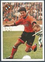 PANINI SCOTTISH FOOTBALL LEAGUE 95- #090-DUNDEE UNITED-DAVID HANNAH IN ACTION