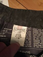 NEW Authentic Rare John Galliano Htf Men 50 M L Italy Trouser Pants Jean Black