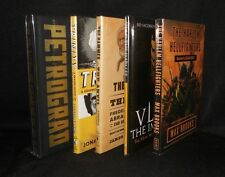 LOT OF 5 HISTORY GRAPHIC NOVELS HELLFIGHTERS PETROGRAD MINT FREE SHIPPING