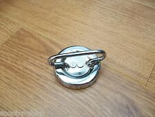 LAMBRETTA STAINLESS STEEL PETROL TANK CAP / FUEL CAP. GP/LI/SX/TV. BRAND NEW