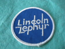 "Vintage Ford Lincoln Zephyr Sew On Patch 3"" X 3"""