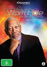 Through The Wormhole With Morgan Freeman : Season 3 (DVD, 2013, 3-Disc Set)
