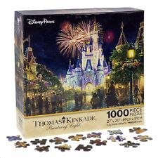Walt Disney World Thomas Kinkade Castle Fireworks Puzzle, NEW