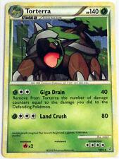 Pokemon Cards TORTERRA 10/95 HGSS UNLEASHED HOLO RARE (E)