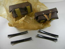 SUPER DEAL! RUSSIAN ARMY ISSUE SET OF 2 POUCHES WITH 4 STRIPPER CLIPS