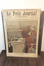 France Le Petit Journal 6th March 1898 Original Newspaper