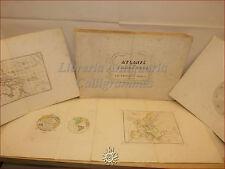 ATLANTE per L'Adolescenza del Cav. FRANCESCO RAVELLI 1843 Napoli con 40 Tavole