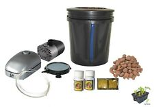 "5 Gallon ""H2OtoGro"" Top Feed Bubbler BUCKET Hydroponic kit"