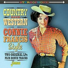 Country & Western Connie Francis Style - Connie Francis (2015, CD NEUF)
