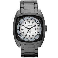 New Original Diesel DZ1494 * Watch in a Watch Look Gunmetal Band * Men's Watch