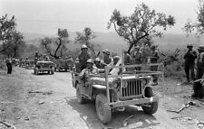 WW2 Photo WWII US Army 10th Mountain Medical Jeep Italy  World War Two / 1396