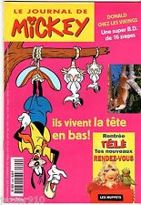 LE JOURNAL DE MICKEY n°2309 ¤ 1996 ¤ LA RENTREE TELE