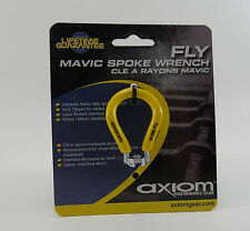 Axiom Fly Spoke Wrench, Yellow Mavic Zicral 6-Spline, Steel,  Brand New